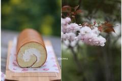 #春天烘焙季#入口即溶的高筋粉蛋糕卷