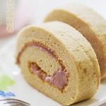 #春天烘焙季#——香甜可口的红豆沙蛋糕卷