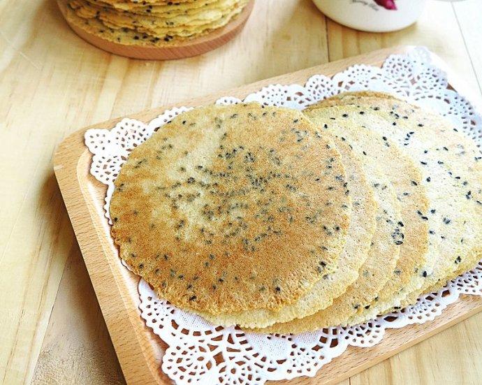 芝麻压饼~~~色如金薄如纸的山西黄金饼