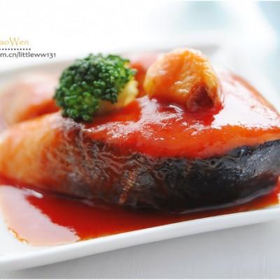 『茄汁三文鱼』颠覆传统吃法