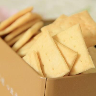 #春天烘焙季#清新的日子来一款清脆的【奶盐苏打饼】吧!