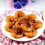 给鲜美的菜肴中加点粗粮---甜玉米烧大虾