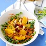 盛滿陽光的味道:超清新胡蘿卜甜橙沙拉