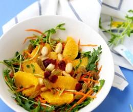 盛满阳光的味道:超清新胡萝卜甜橙沙拉