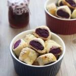 一口一个的美味紫薯一口酥