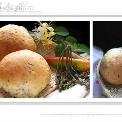 质朴的香椿面包---感恩母亲!