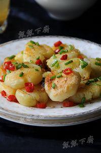 尝鲜儿季节特色菜~~三椒炒鸡头米梗