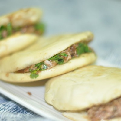 #美食感恩季#为喜欢西安的母亲做一次满嘴留香的肉夹馍