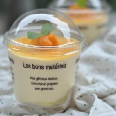 美食感恩季--送给爱吃蛋糕妈妈的小清新芒果慕斯杯