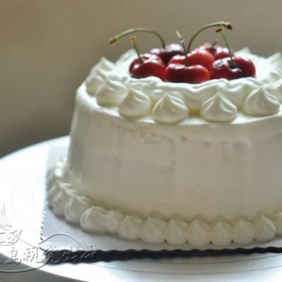 美食感恩季--帮孝顺女儿做给妈妈的樱桃奶油蛋糕