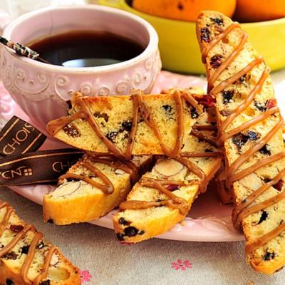 #美食感恩季#父亲赞不绝口的摩卡斜形小饼