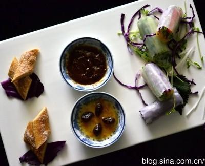 越南米皮素菜卷为你宴客而来