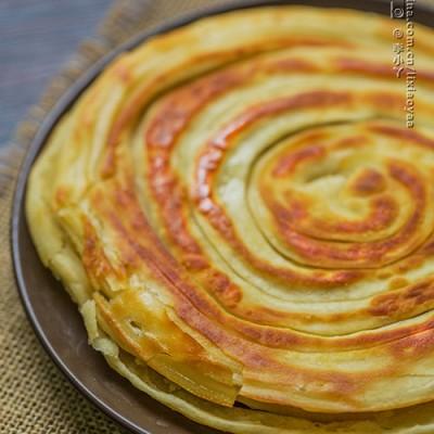 #美食感恩季#金黄酥脆的手抓饼