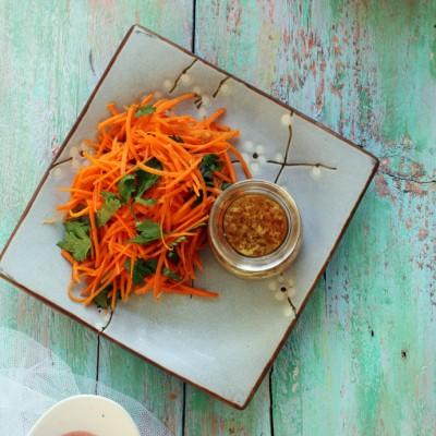#美食感恩季#妈妈的秘诀-----凉拌胡萝卜丝