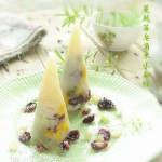 #美食感恩季#蔓越莓皂角米水晶粽