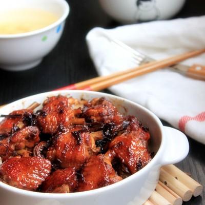 #美食感恩季#【梅干菜烧鸡翅】江南经典美食
