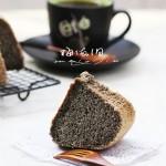 #美食感恩季#給父母的營養長壽蛋糕——黑米戚風