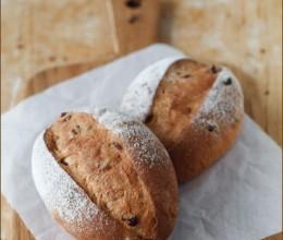 麦麸蔓越莓面包