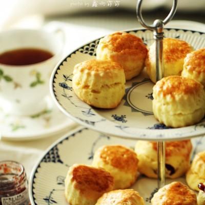 #美食感恩季#和爸爸妈妈一起喝下午茶吧----英式司康