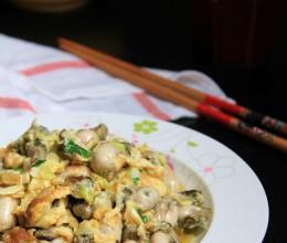 全民皆宜的美味---牡蛎炒蛋