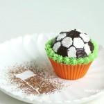 """#烘焙世界杯#与足球一起""""芬""""狂【足球蜂蜜蛋糕】"""
