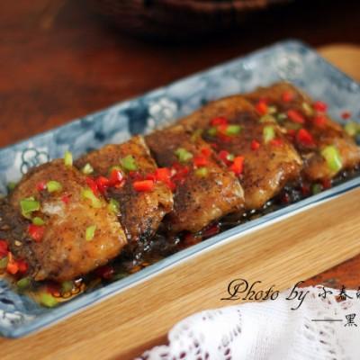 #美食感恩季#创新带鱼新味道——黑胡椒带鱼