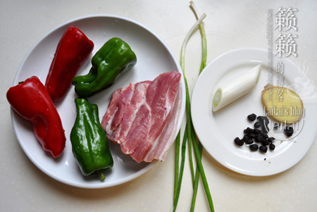 #美食感恩季#豉椒小炒肉,爸爸的爱陪伴成长!