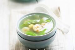 汤汤水水远离苦夏——丝瓜瑶柱汤