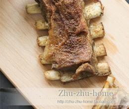 超简单两步做出好吃到哭的嫩烤羊排——烤箱版烤羊排