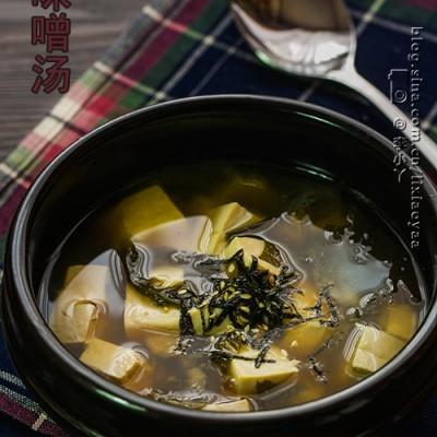 解救上班族的快捷美味汤——裙带菜豆腐味噌汤