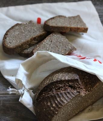 天然酵种粗粮欧包-小米当家