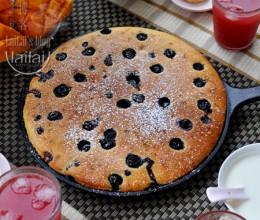 【酸奶蓝莓馅饼】风味迷人的快手早餐饼!
