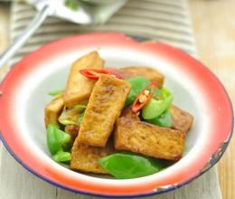 跟高龄奶奶学做好吃不贵的养生菜——虎皮豆腐