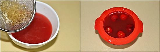 #烘焙世界杯#世界杯的红色盛宴---樱桃三层蛋糕