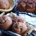 巧克力核桃蔓越莓面包(美的T3-L383B烤箱试用)