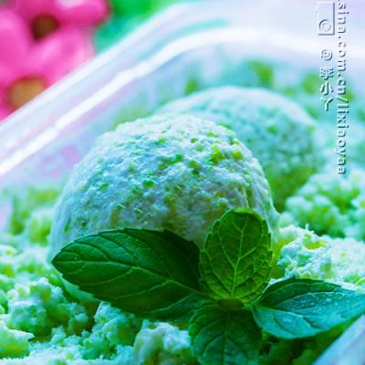 #清凉Highg一夏#奶香浓郁的卷心菜冰淇淋