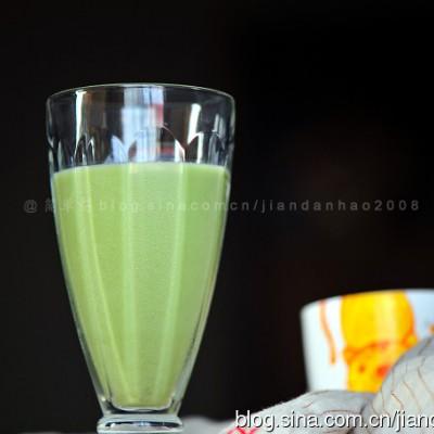 抹茶薏仁饮----清新好味有营养的夏日饮品