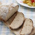 """健康香醇的""""黑麦法式乡村面包"""""""