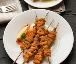 激发你食欲的泰式风味鸡肉串——辣爽咖喱鸡肉串