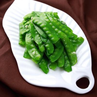 如何让清炒变的更美味漂亮《清炒荷兰豆》《厨房小混子》六十六