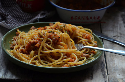 懒人10分钟快手餐【油浸番茄意面】(附油浸小番茄做法)