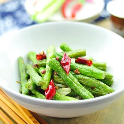 鲜咸爽口麻辣诱惑挡不住的传统名菜——干煸豆角