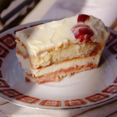 【樱桃提拉米苏】--老少通杀的免烤蛋糕