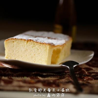 入口即化的幸福味道---乳香舒芙蕾芝士蛋糕