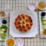 """#新浪美食开学季#为""""懒""""妈咪量身定制韩式脆底烤面包"""