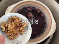 #新浪美食开学季#能量满满的营养早餐核桃杂粮粥
