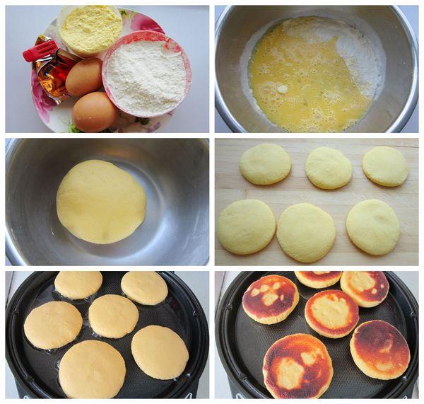 开学季:粗粮细吃的牛奶玉米饼