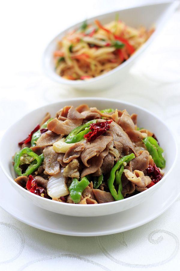 香辣开胃的下饭菜——尖椒肥牛