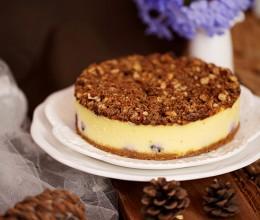 香酥粒蓝莓乳酪蛋糕