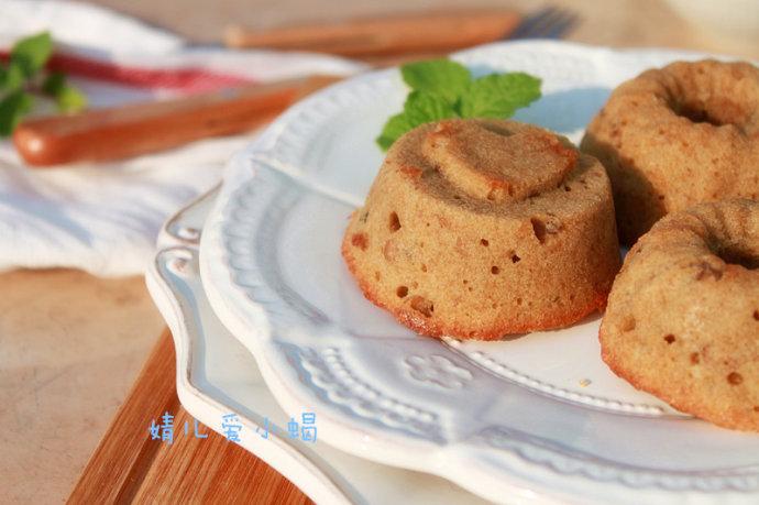 非常推荐的能量早餐-----咖啡核桃小蛋糕